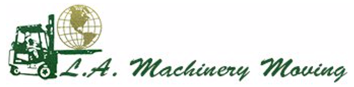 L A Machinery Moving Logo Logo