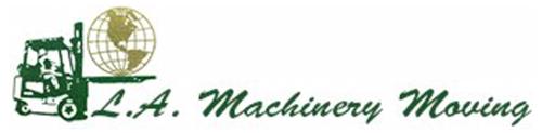 L A Machinery Moving Logo Logo