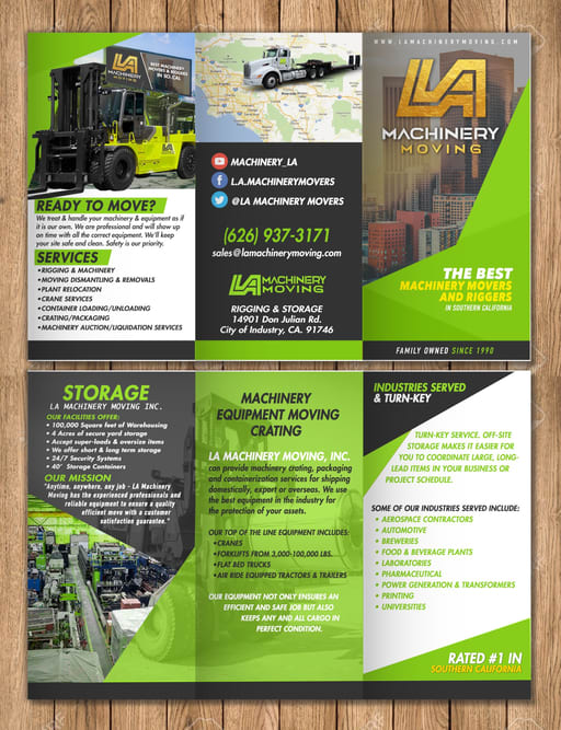 LA Machinery Moving Pamphlet